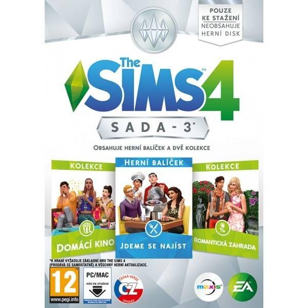 Hra EA PC The Sims 4 Bundle Pack 3 (EAPC05149)