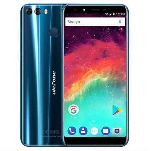 Mobilní telefon UleFone MIX 2 Dual SIM (6937748731474) modrý (vrácené zboží 2540006795)
