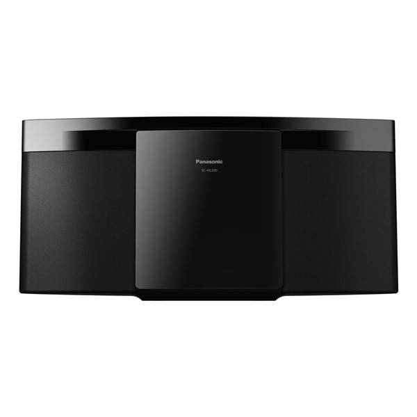 Mikrosystém Panasonic SC-HC200EG-K černý (poškozený obal 8800110345)