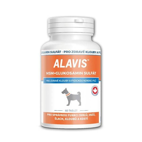 Prášok Alavis MSM + Glukosamin sulfát