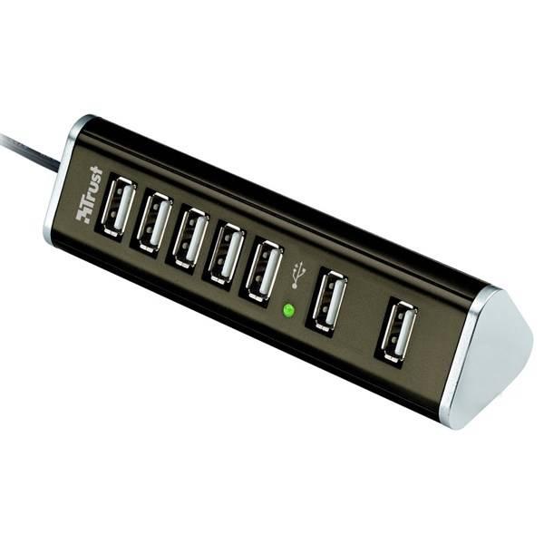 USB Hub Trust HU-5870V (15140) černý