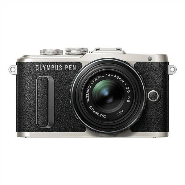 Digitální fotoaparát Olympus PEN E-PL8 + 14-42 EZ Pancake černý (poškozený obal 3000007730)