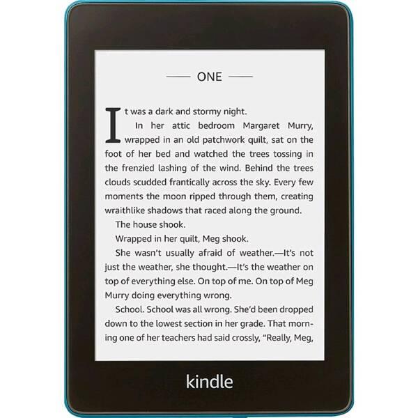 Čtečka e-knih Amazon Kindle Paperwhite 4 2018 s reklamou (EBKAM1151 ) modrá