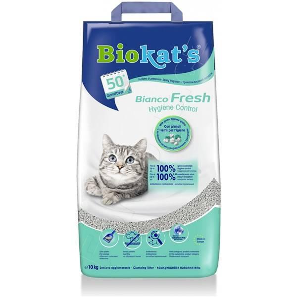 Podstielka Biokat´s Bianco Fresh 10 kg