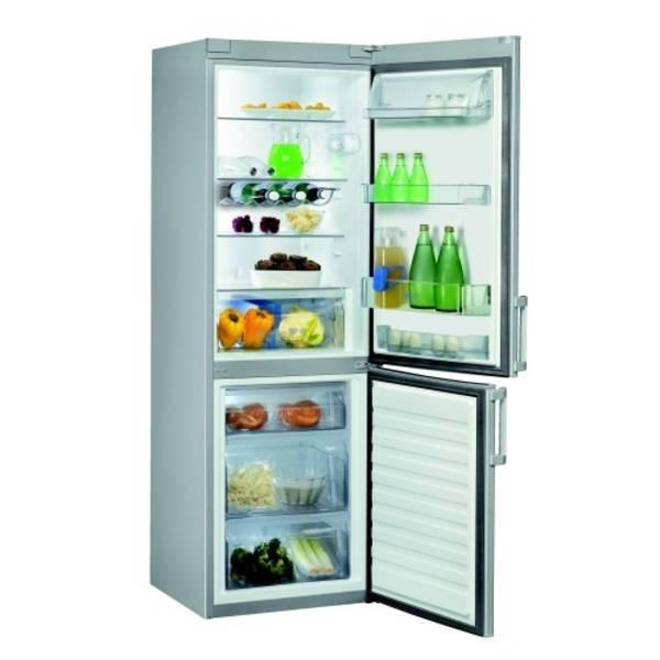 Kombinace chladničky s mrazničkou Whirlpool WBE34162 TS ocel