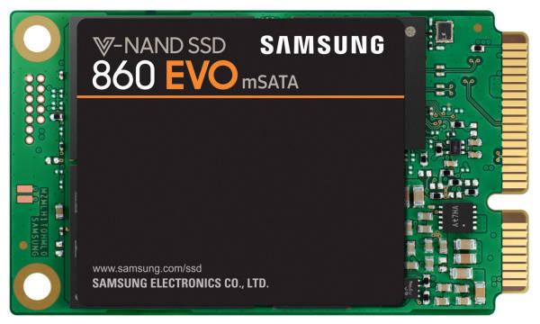 SSD Samsung EVO 860 1TB mSATA (MZ-M6E1T0BW) černý