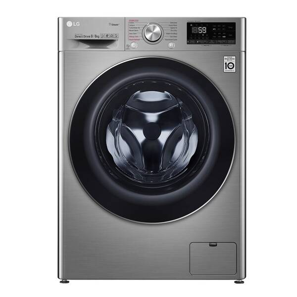 Pračka se sušičkou LG F4DV709H2T stříbrná