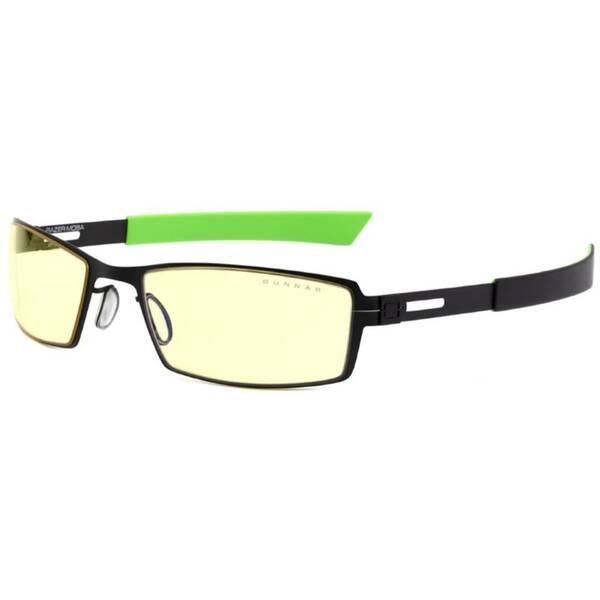 Herné okuliare GUNNAR Razer Moba Onyx, jantarová skla (RZR-30007) čierne