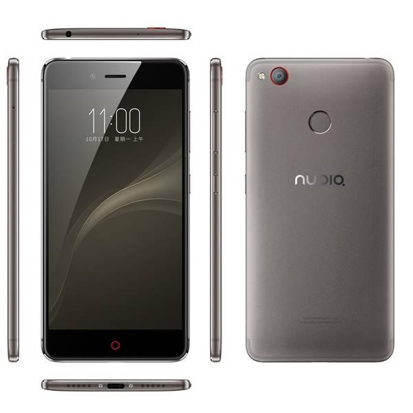 Mobilní telefon Nubia Z11 miniS DualSIM - Khaki Grey (6902176900198) šedý (vrácené zboží 8800174812)