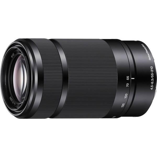 Objektiv Sony E 55–210 mm f/4.5 – 6.3 OSS černý