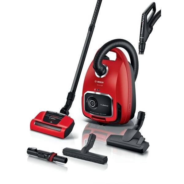 Podlahový vysávač Bosch ProAnimal BGL6PET1 červený