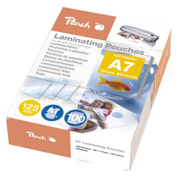 Laminovacie fólie Peach A7 (111x154mm), 125mic, 100pck/BAL (PP525-05)