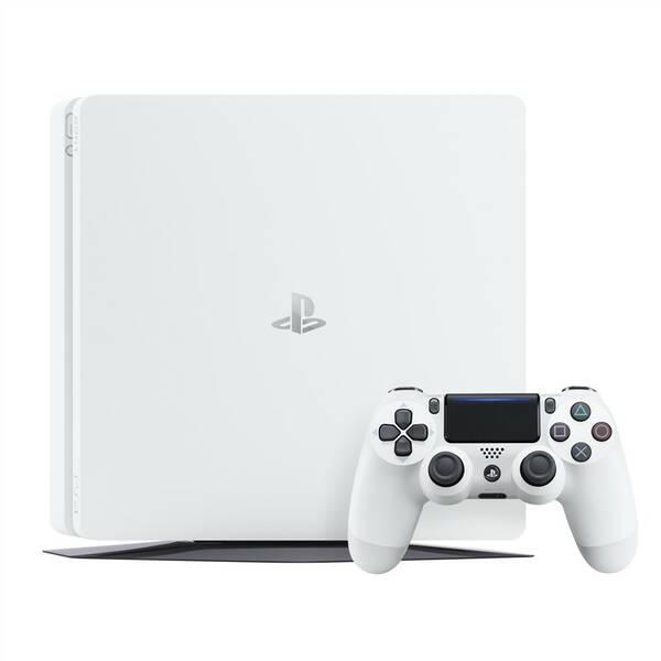 Herní konzole Sony PlayStation 4 500GB (PS719755517) bílá