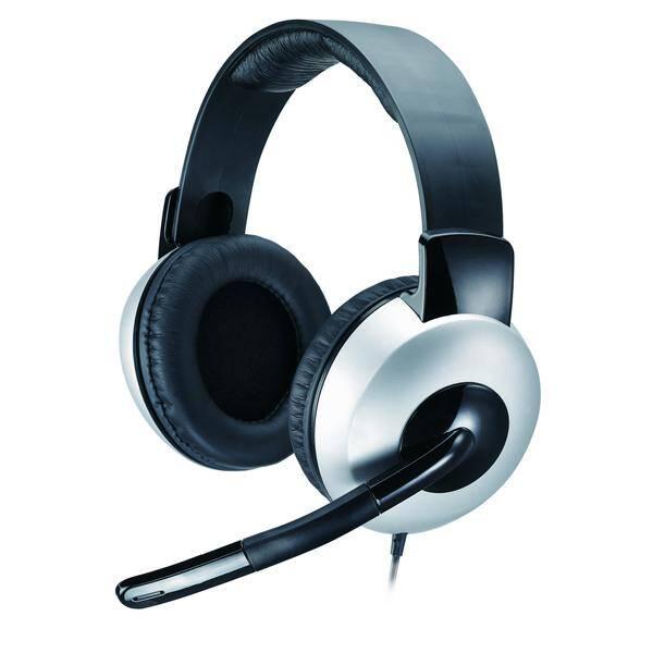 Headset Genius HS-05A (31710011100) černý/stříbrný