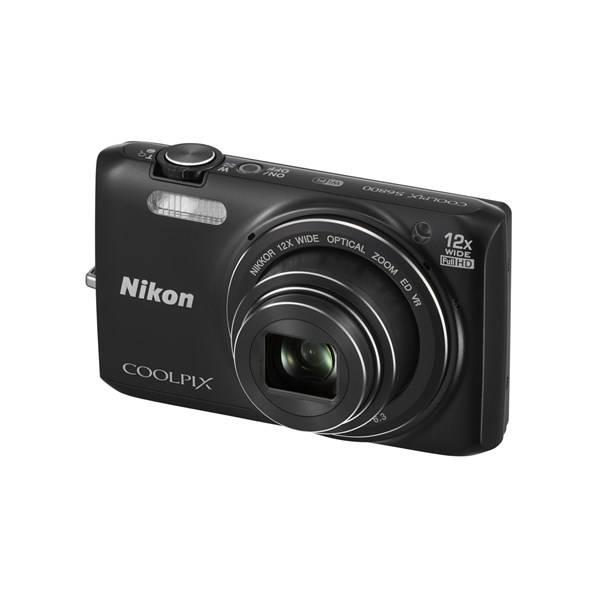 Digitální fotoaparát Nikon Coolpix S6800 černý