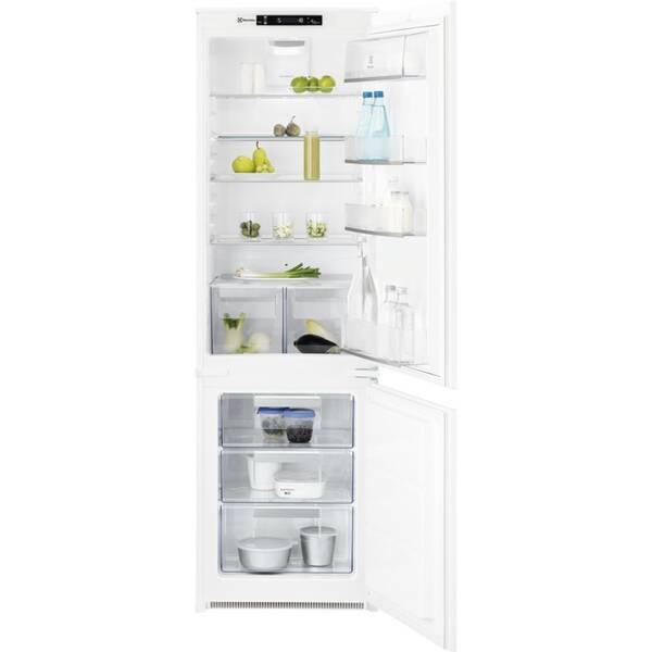 Chladnička s mrazničkou Electrolux FlexiShelf LNT4FE18S bílé
