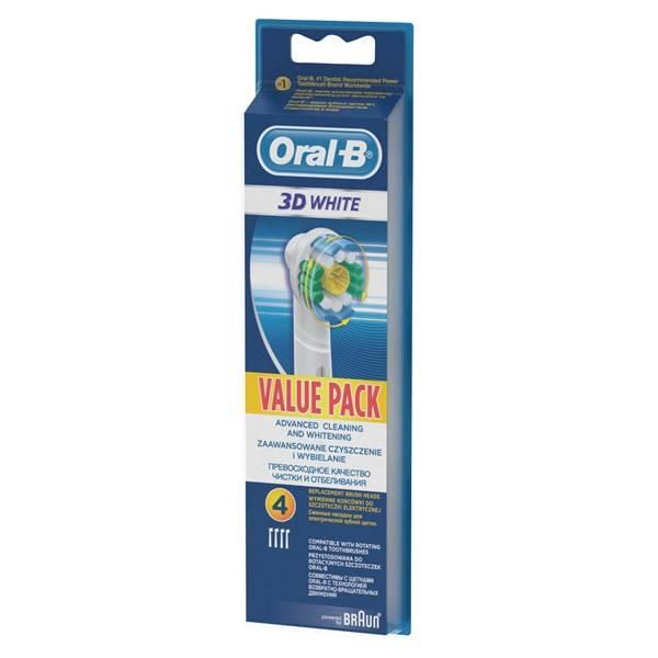 Náhradní kartáček Oral-B EB 18-4 3D White Luxe