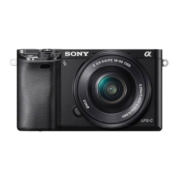 Digitální fotoaparát Sony Alpha 6000 + 16-50 OSS SEL černý (vrácené zboží 8800306920)