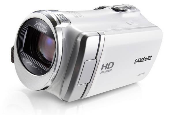 Videokamera Samsung HMX-F90 bílá