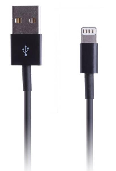 Kabel Connect IT USB/Lightning, 1m (CI-415) černý