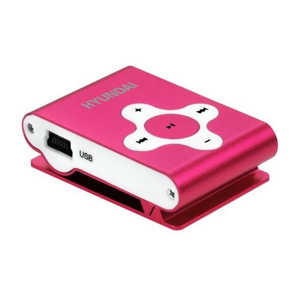 MP3 prehrávač Hyundai MP212 4GB červený