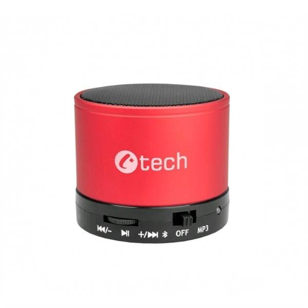 Přenosný reproduktor C-Tech SPK-04R (SPK-04R) červený