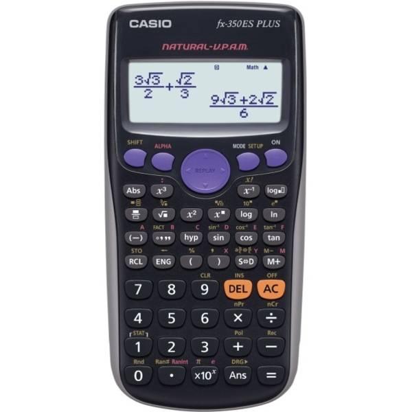 Kalkulačka Casio FX350 ES PLUS (FX350 ES PLUS) čierna
