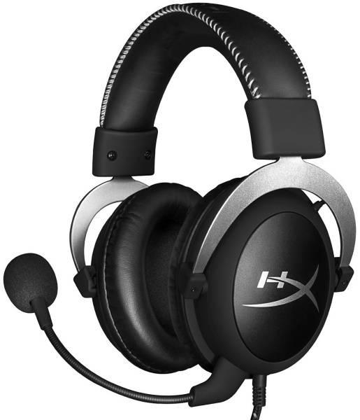 Headset HyperX Cloud (HX-HSCL-SR/NA) stříbrný