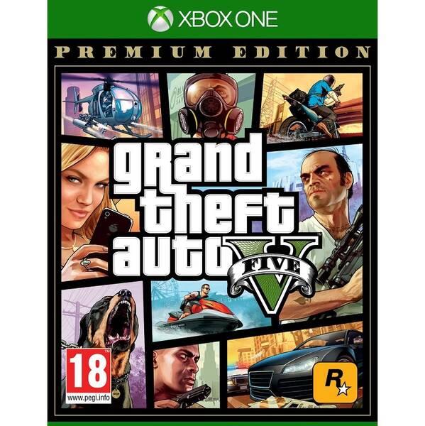 Hra RockStar Xbox One Grand Theft Auto V - Premium Edition (5026555359993)