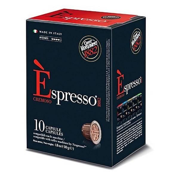 Kapsle pro espressa Vergnano Cremoso