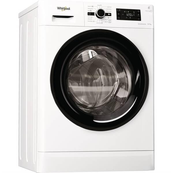 Pračka se sušičkou Whirlpool FreshCare+ FWDG97168B EU bílá barva