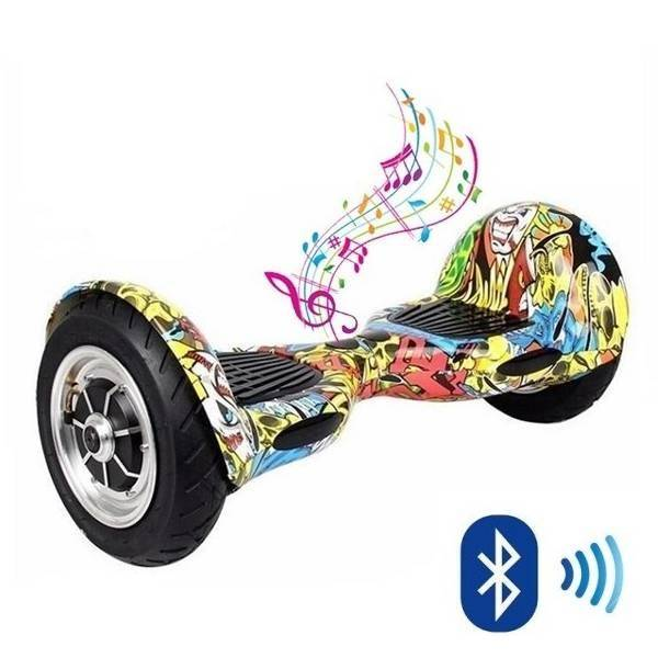 Hoverboard Kolonožka Graffiti Offroad APP