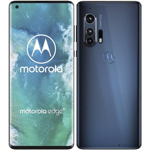 Mobilný telefón Motorola Edge Plus 5G (PAHV0013PL) sivý/modrý