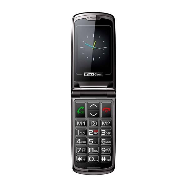 Mobilní telefon MaxCom Comfort MM822 Single Sim (MM822BKSS) černý (vrácené zboží 8800301542)