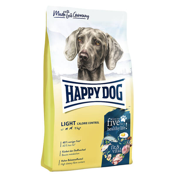 Granuly HAPPY DOG Light Calorie Control 12 kg