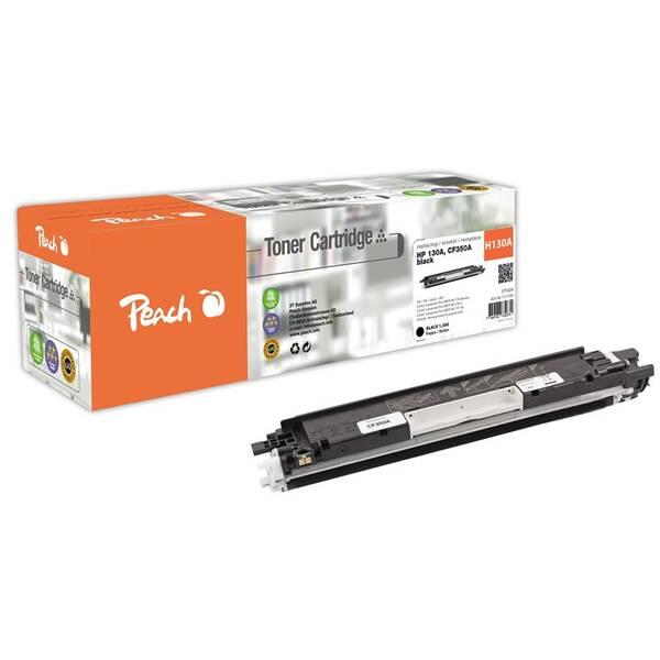 Toner Peach HP CF350A, No 130A, 1300  stran, kompatibilní (111735) černý
