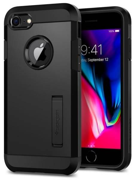 Kryt na mobil Spigen Tough Armor 2 pro Apple iPhone 7/8 (054CS22216) černý