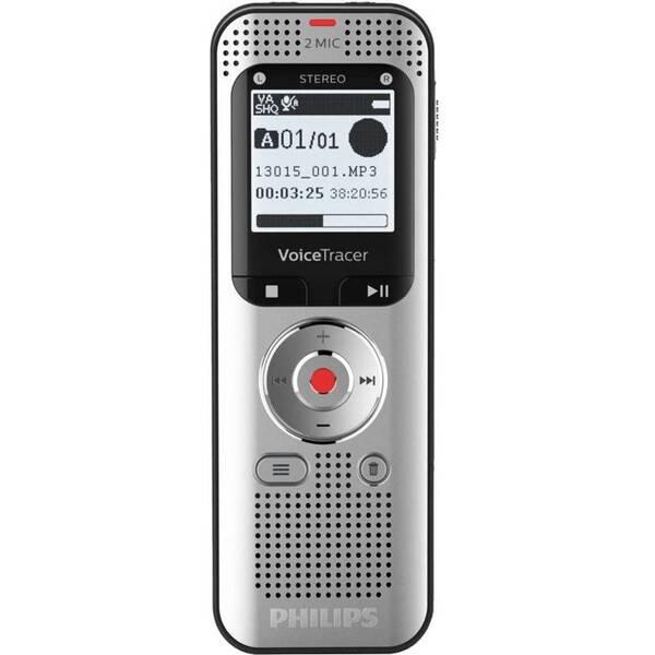 Diktafon Philips DVT2050 stříbrný (vrácené zboží 8800520343)