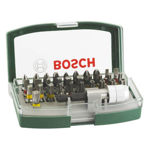 Sada bitov Bosch 32 ks s barevným odlišením