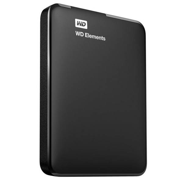 Externý pevný disk Western Digital Elements Portable 3TB (WDBU6Y0030BBK-WESN) čierny