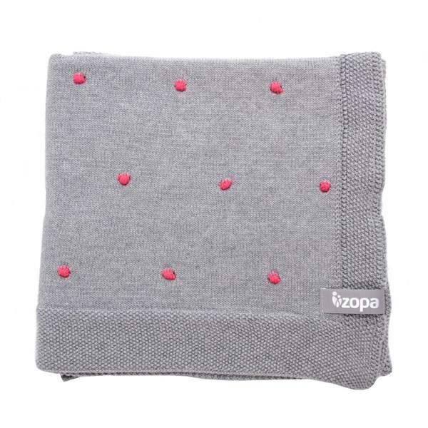 Dětská deka Zopa Dots Redwine