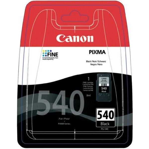 Inkoustová náplň Canon PG-540, 180 stran - originální (5225B005) černý