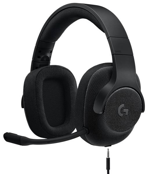 Headset Logitech Gaming G433 7.1 Surround (981-000668) černý
