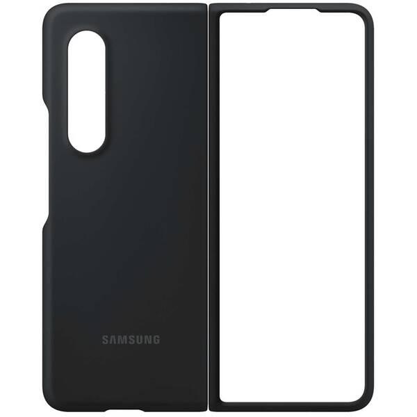Kryt na mobil Samsung Silicone Cover Galaxy Z Fold3 (EF-PF926TBEGWW) čierny