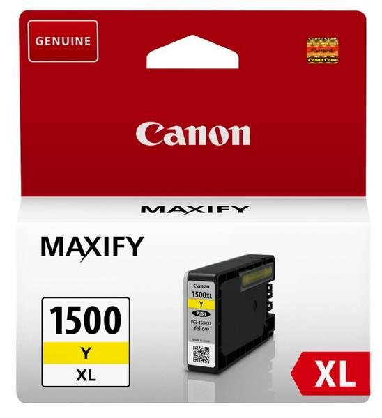 Cartridge Canon PGI-1500XL, 935 stran (9195B001) žltá