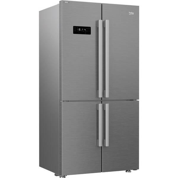Americká chladnička Beko GN1416231JXN nerez