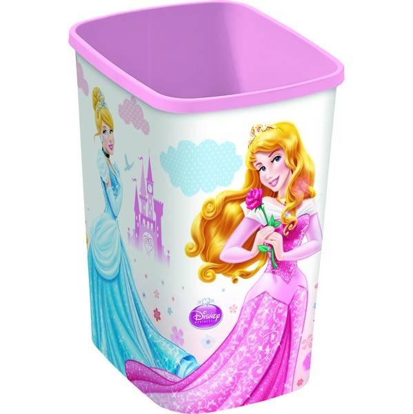 Odpadkový koš Curver Deco Flip Bin Princezny 10 l