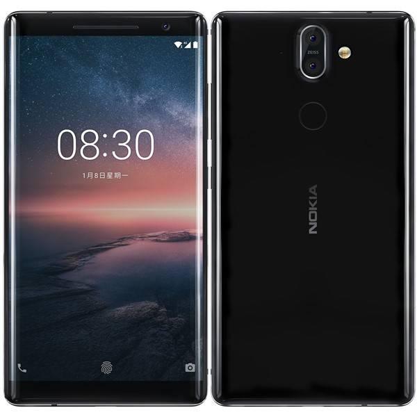 Mobilní telefon Nokia 8 Sirocco (11A1NB01A05) černý