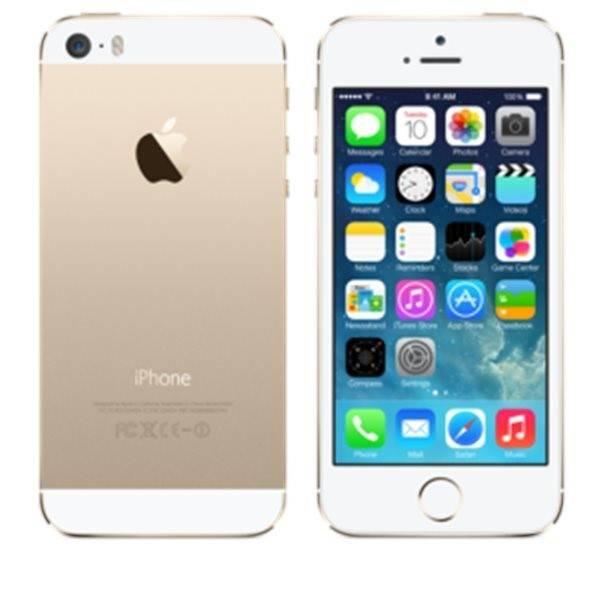 Mobilní telefon Apple iPhone 5s 32GB (ME437CS/A) zlatý