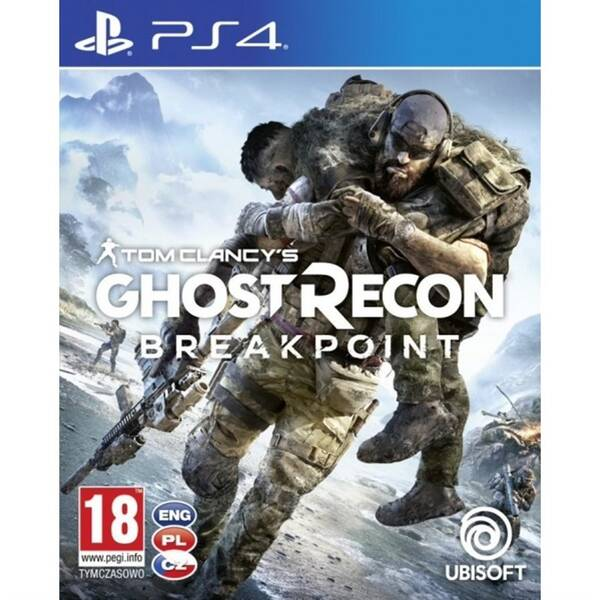 Hra Ubisoft PlayStation 4 Tom Clancy's Ghost Recon Breakpoint (USP407361)